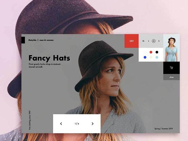HTML5全屏商品选择图片切换