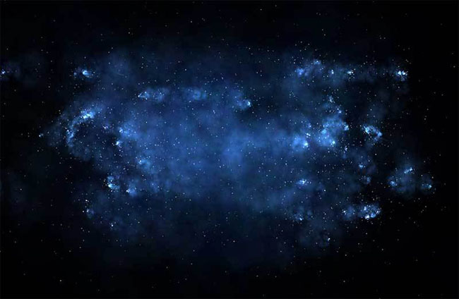 HTML5 Canvas绘画银河