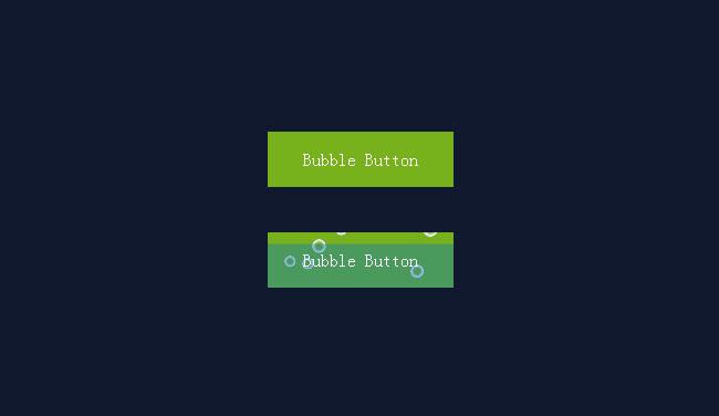 纯CSS3悬停气泡按钮动画