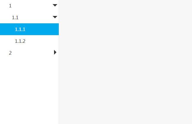 json数据创建多级下拉菜单