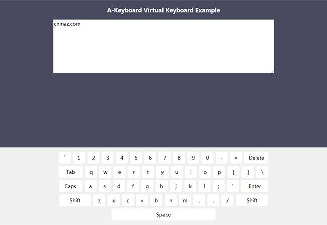 JS虚拟键盘输入框