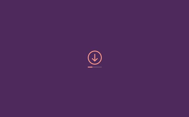 IOS下载按钮CSS3动画
